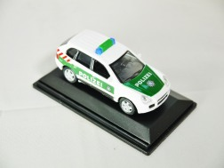 REAL-X COLLECTION 1-72 GERMANY POLIZEI CAR 512 - Porsche Cayenne Patrol Car - 04